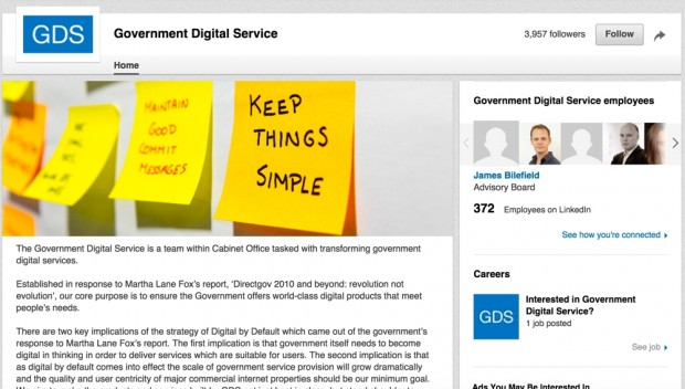 Picture of the @gdsteam LinkedIn profile
