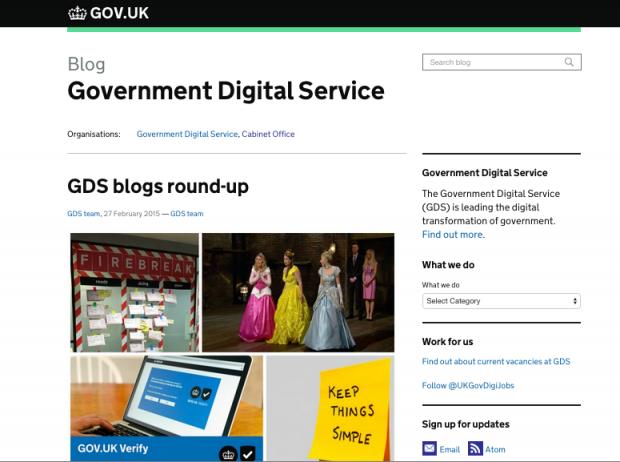 GDS blog